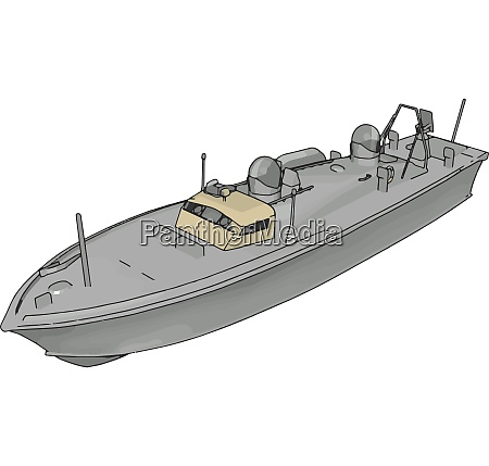 3d illustration of a white army