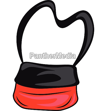a sports bag vector or color