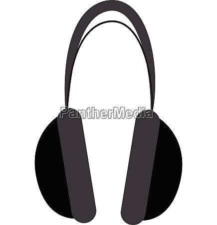 a black wireless cartoon headphone to