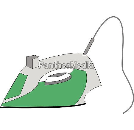 a household electronic steam iron machine