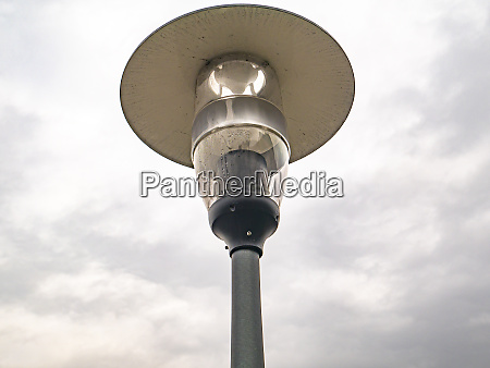 street lamp lighting on a background