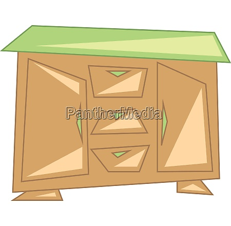 clipart of a sideboard a beautiful