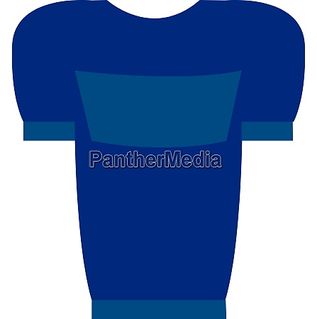 blue t shirt with blue print