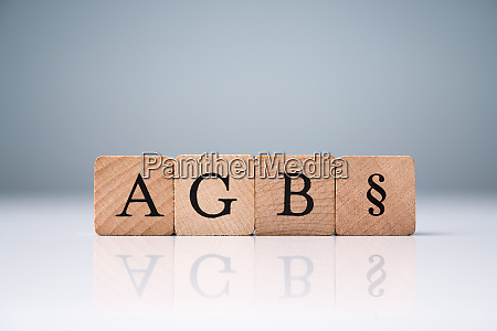 agb letters standing for standard form