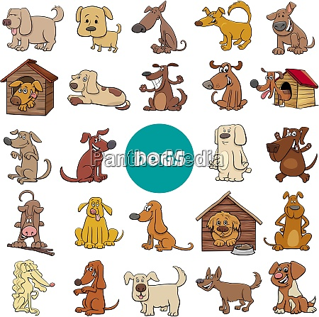 cartoon dogs and puppies characters large