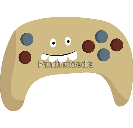 clipart of a colorful playstation controller