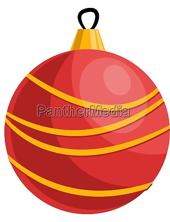 red and yellow christmas decoration ball