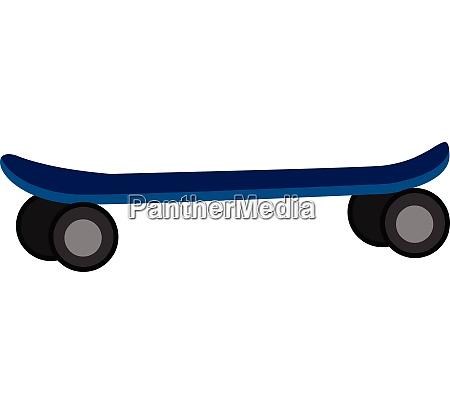 skate illustration vector on white background
