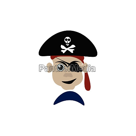 a dangerous pirate vector or color