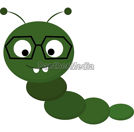 clipart of a cute little caterpillar