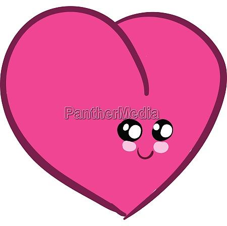 emoji of a cute pink heart