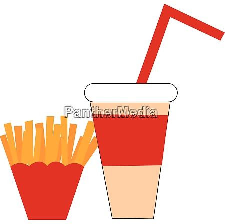 clipart of fastfood vector or color
