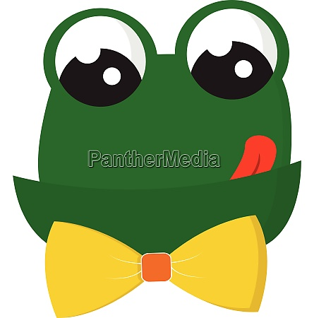clipart of a beautiful green frog