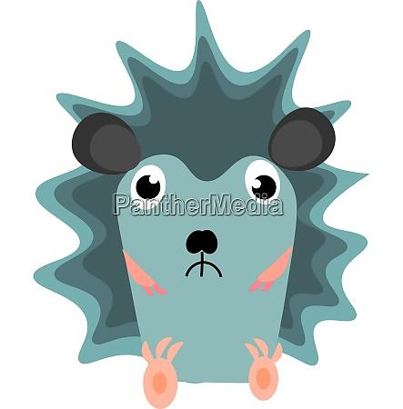 emoji of a sad blue colored