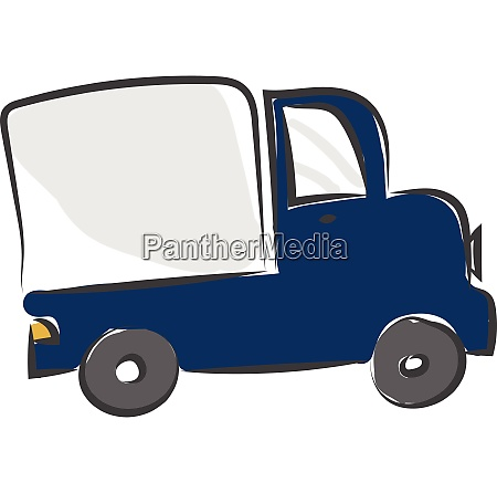 a big truck vector or color