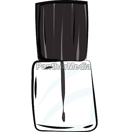 colourless manicure vector or color