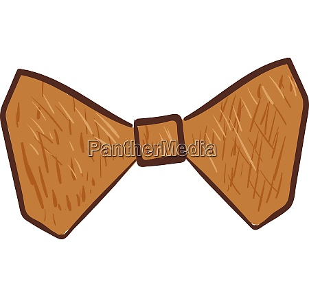 clipart of a wooden bow vector