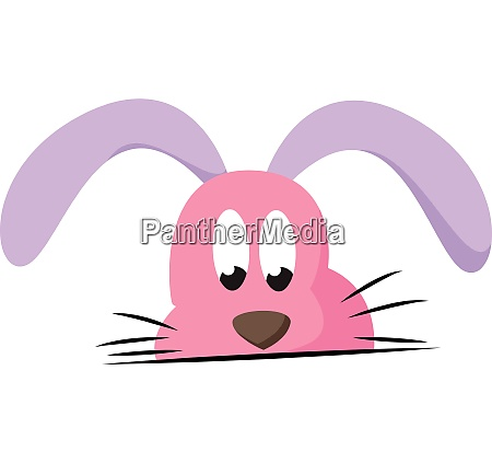 clipart of a rabbit expressing sadness