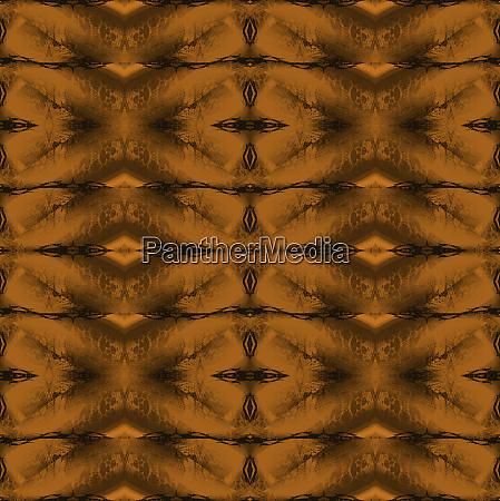regular ornate diamond pattern golden and