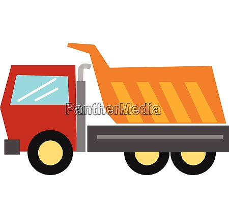clipart of the large goods vehicle