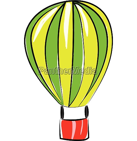 air balloon vector or color illustration