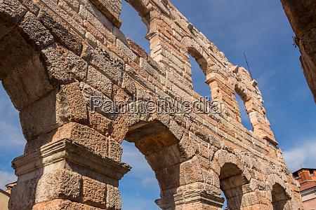 verona coliseum detail