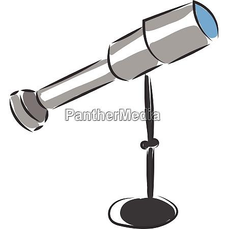 a binoculars vector or color illustration