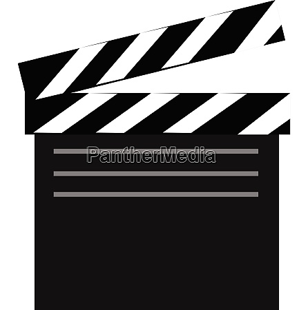 movie vector or color illustration