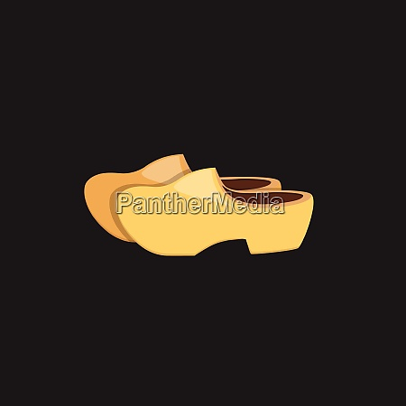 ladies shoes vector or color illustration