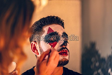halloween makeup concept