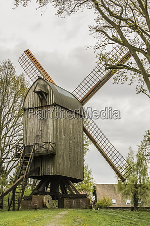 beautiful old mill in the speckenbuetteler
