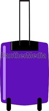 purple bag illustration vector on white