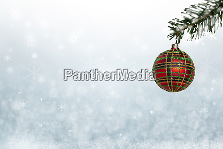 christmas or new year card template