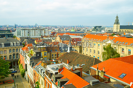 oldtown modern architecture brussels belgium