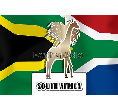 south africa illustration