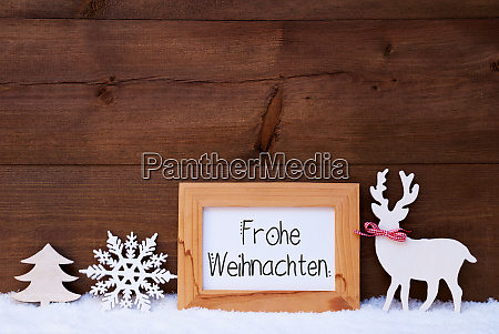 deer snowflake snow tree frohe weihnachten