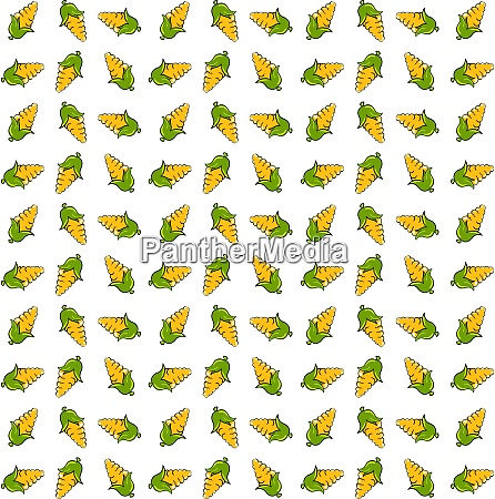 corn wallpaper illustration vector on white