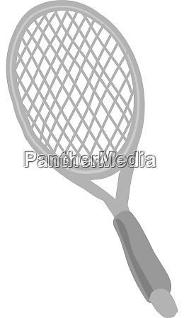 tennis racket illustration vector on white