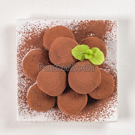 fine chocolate truffles