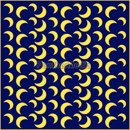 moon wallpaper illustration vector on white