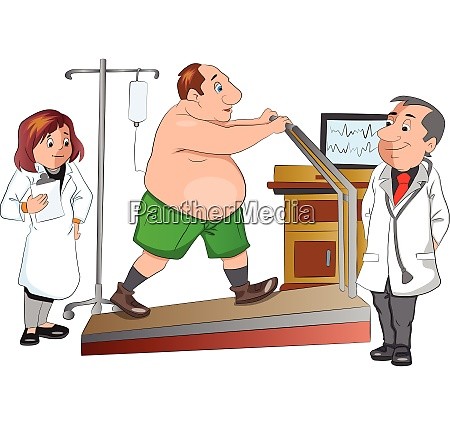 physical checkup illustration