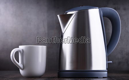 stainless steel electric cordless kettle of
