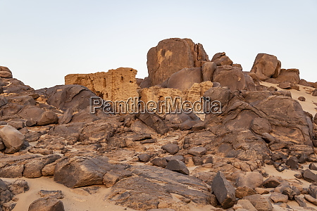 brick structure habarab northern state sudan