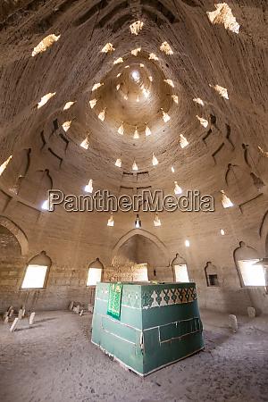 interior of the mausoleum of a
