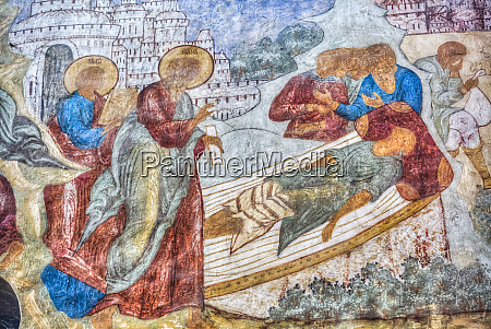 religious artwork depicting a death grief