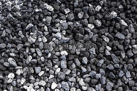 monochromatic rocks near the geothermal area