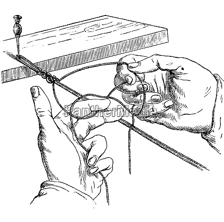 second movement vintage engraving