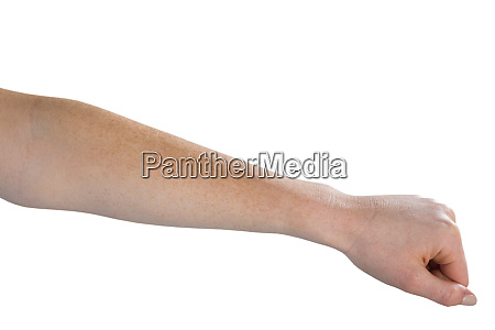 cropped image of woman hand