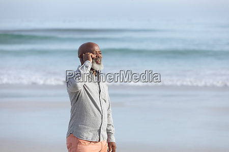 man talking on the phone by