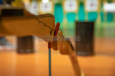 sports archery at the shooting range